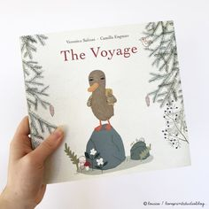 'The Voyage' is written by Veronica Salinas and features the wonderful illustrations of Camilla Engman.