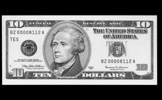 A Woman's face will replace Hamilton's on the $10 bill. Whose face has yet to be decided.