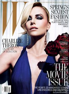 Charlize Theron - W Magazine (Feb 2012)