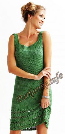 Платье крючком (ж) 10*20 Cheval Blanc №4711