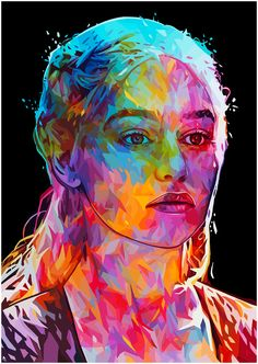 Game of Thrones portraits on Behance
