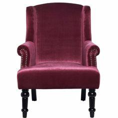 MAURICE fotel lila 75x84x98cm