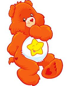 care bear clipart   ... into Care Bears so I decided I would make her a Care Bear bingo game