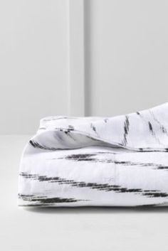 Linen Printed Sheet Set or Pillowcase from Lands' End
