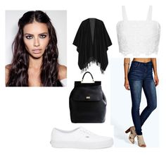 """""""Casual Model Outfit"""" by aisha-567 on Polyvore featuring Miguelina, Vans, rag & bone and Dolce&Gabbana"""