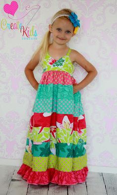 half off on all maxi dress patterns THIS WOULD LOOK ADORABLE ON OUR BEAUTIFUL ABBEY!!!! DEAN