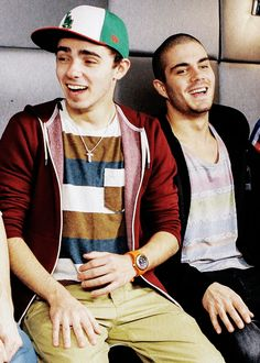 nathan sykes and max george. I don't listen to them but they're so cute
