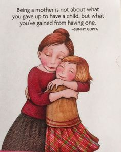Being A Mother Is Not About What You Gave-Mary Engelbreit Magnet