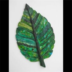 Leaf  : Pate de verre