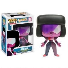 This Steven Universe Vinyl Pop figure features Garnet, the strong and powerful Crystal Gem.
