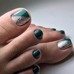 wonderful pedicure designs, 65 Wonderful Pedicure Ideas That You Will Love To Try Pedicure Designs, Manicure E Pedicure, Toe Nail Designs, Acrylic Nail Designs, Acrylic Nails, Pedicure Ideas, Pretty Toe Nails, Cute Toe Nails, Pretty Toes