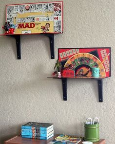 25 Absurd Ways To Put Old Stuff To Creative Use As New Treasures is part of Game room decor - When it comes to repurposing old stuff, there endless ideas to reinvent an item and give it a new purpose Call it upcycling or recycling, it's all the same Old Board Games, Game Boards, Board Game Shelf, Board Game Storage, Diy Casa, Game Room Decor, Room Decorations, Homemade Decorations, Diy Upcycling