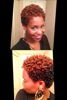 by Portia ofhuneybflyy.com When you're just beginning your natural hair journey and you're sporting a TWA, it can be discouraging to look at all of the veterans wearing their bodacious curls. Some...