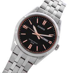 Gents Watches, Watches For Men, Casio Quartz, Mens Watch Brands, Couple Watch, Casio Watch, Stainless Steel Case, Quartz Watch, Omega Watch
