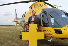 Northamptonshire dad urges people to support air ambulance which saved his life | Northampton Herald & Post