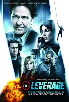 I've always liked a good heist movie and Leverage is a great blend of heists and conmen, with a dash of Robin Hood.