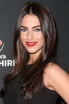 Star Jessica Lowndes Joins 'Eden' Cast (Exclusive) This is the chocolate brown hair I want!This is the chocolate brown hair I want! Brown Hair With Highlights, Brown Blonde Hair, Light Brown Hair, Brown Hair Colors, Dark Hair, Deep Brown Hair, Chocolate Brown Hair Pale Skin, Chocolate Color, Brown Hair For Pale Skin