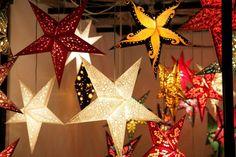 pretty star lanterns