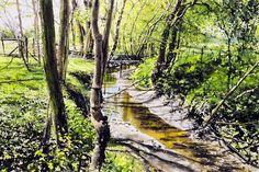 watercolor paintings  | Watercolor Paintings By Bulgarian Artist Atanas Matsoureff