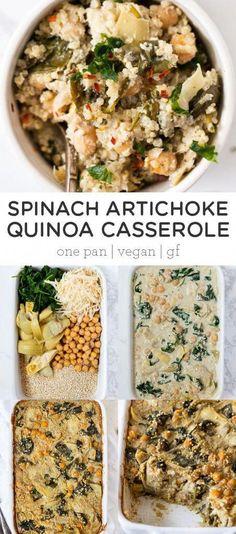 Vegetarian Recipes Dinner, Vegan Dinners, Veggie Recipes, Whole Food Recipes, Cooking Recipes, Vegan Vegetarian, Healthy Dinners, Recipes With Quinoa, Best Healthy Recipes