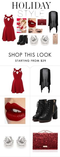 """""""rachels holiday"""" by rachy1008 on Polyvore featuring Charlotte Tilbury, Kate Spade, Casetify and holidaystyle"""