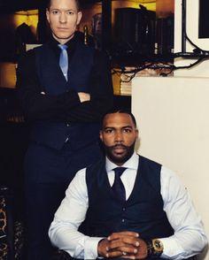Joseph Sikora and Omari Hardwick