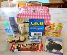 Teacher's Survival Kit - - Note: MANY ideas on Pinterest.  Too many to post each one.  Check them out.