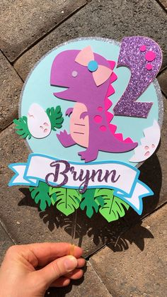 Cake with zucchini bacon and goat's cheese - Clean Eating Snacks Dinosaur Cake Toppers, Birthday Cake Toppers, Dino Cake, Cupcake Toppers, Dinosaur Party Decorations, Birthday Decorations, Graduation Decorations, Girl Dinosaur Birthday, Elmo Birthday
