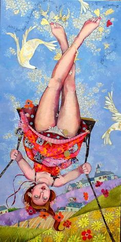 i remember swinging so high it felt like this --- It's never too late in life to visit a park and SWING again.