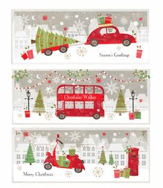 These are some of my new designs featured in Boots this Christmas!