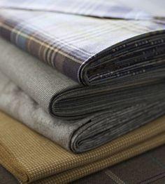 Autumnal Tones, Flint | Nairn Fabric by Johnstons of Elgin | Jane Clayton