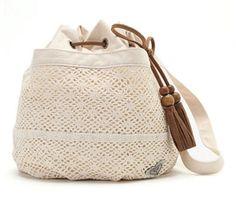 Roxy Live It Up Crochet Bag