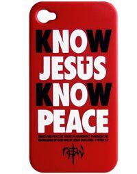 NOTW Know Jesus iPhone 4/4s Full Case