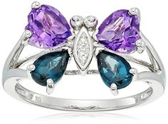 Size 10 Obedient Sky Blue Topaz Stainless Solitaire Ring Tgw 2.40 Cts Last Style