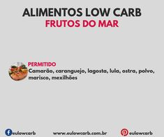 LOW CARB: ALIMENTOS PERMITIDOS, MODERADOS E PROIBIDOS Diet Diary, Dieta Low, Light Diet, Low Carbon, Low Carb Diet, Ketogenic Diet, Food And Drink, Fitness, Health