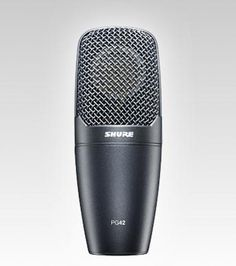 Shure PG42USB - Condenser Microphones - Microphones - Live Sound