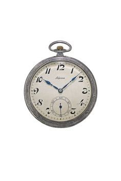 Alpina vintage pocket watch from the 1930's. www.alpina-watches.com
