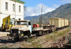 RailPictures.Net Photo: Unknown Eritrean Railways Ural rail truck at Nefasit, Eritrea by Daniel SIMON: