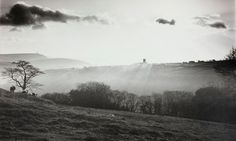 Margret Drabble on Fay Godwin, The Guardian, 2011 Heptonstall, backlit, Yorkshire 1978 by Fay Godwin Best Landscape Photography, History Of Photography, Artistic Photography, Landscape Photos, White Photography, Street Photography, Museum Photography, Photography Lessons, Winter Landscape