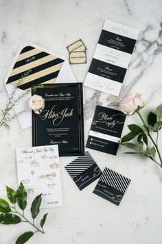 Get ready to swoon! We've rounded up 17 glamorous wedding invitations for couples looking to make a serious impact with their wedding stationery! Foil Wedding Invitations, Wedding Stationery, Signed Sealed Delivered, Gold Wedding Theme, Glamorous Wedding, Rsvp, Affair, Wedding Inspiration, Gift Wrapping