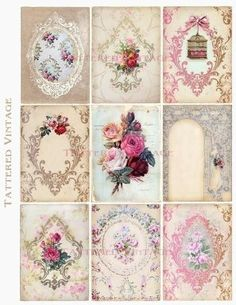 Ideas wall paper vintage backgrounds manualidades for 2019 Vintage Tags, Vintage Diy, Vintage Labels, Vintage Paper, Vintage Prints, Decoupage Vintage, Decoupage Paper, Wallpaper Collage, Arts And Crafts