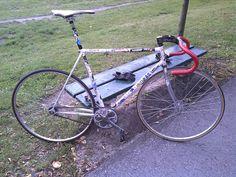 Ratty messengers bike