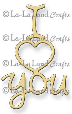 *PRE-ORDER* La-La Land Crafts - Die - I heart you