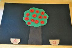 Felt Apple Tree Game