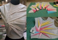 "Origami Petal fold outcome by ""Nelleke"" at -ORIGAMI MASTER-Online Class by Shingo Sato"