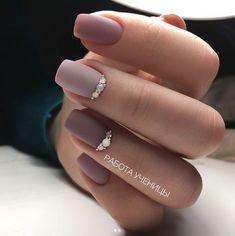 Manicure Ideas Pastel Matte Nails 44 New Ideas Elegant Nail Designs, Elegant Nails, Classy Nails, Fancy Nails, Stylish Nails, Trendy Nails, Fancy Nail Art, Bridal Nails, Wedding Nails