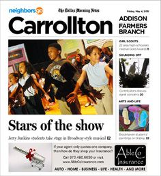 05/04: Broadway-style productions are alive and well at Dallas ISD's Jerry Junkins Elementary School in Carrollton.    http://neighborsgo.com/stories/82662