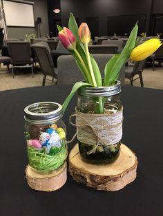 Easter centerpieces for volunteer appreciation
