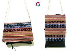 Foldover Clutch & Cross Body Bag  Handmade  by becauseilikeitAU