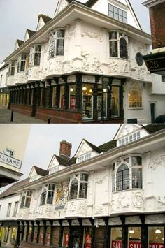 Ancient House  - Ipswich, such a pretty building and you get jam covers there!